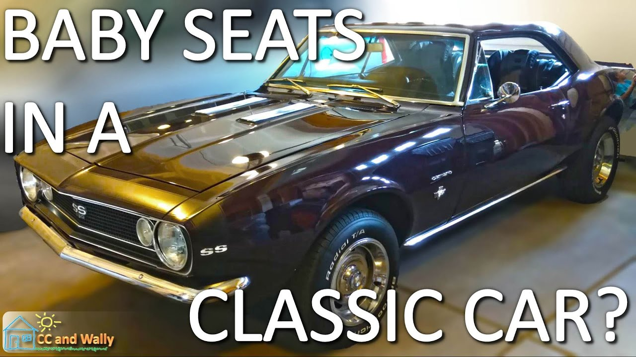 1967 Camaro SS 350 Child Seat In Classic Car Britax Frontier Clicktight New Belts For Safety