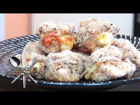 Chicken Corden Bleu Nuggets - Video Recipe