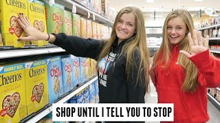 Shop Until I Tell You to Stop Shopping Challenge ~ Jacy and Kacy
