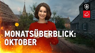 Monatsüberblick: Oktober [World oḟ Tanks Deutsch]