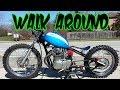 Dirtbike Bobber Walk-Around & Ride