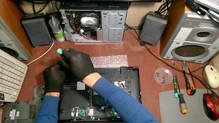 Восстановления 15'' ноутбука Lenovo b590 за 200$ после газировки - обзор, чистка, диагностика ????