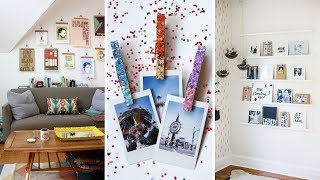 10 Ways to Hang Pictures on the Wall