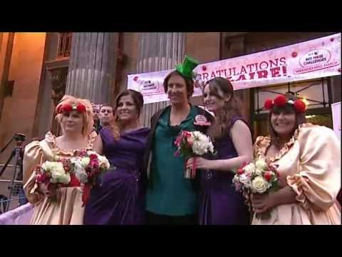 Miranda's Mad March - The Wedding | Red Nose Day 2013