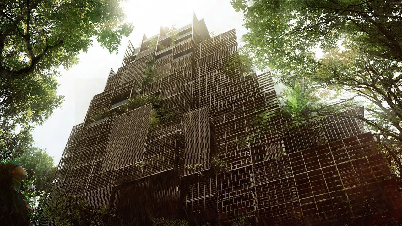 jean nouvel designs plant covered hotel for historic district of são
