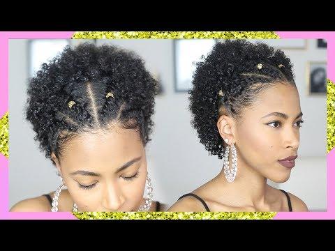 Natural Hairstyles Medium Length Flat Twist Afro Jasmine
