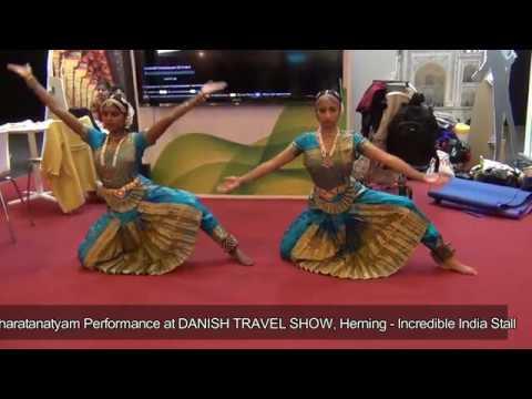 Bharatanatyam Danish Travel Show - INCREDIBLE INDIA - Stall 24th FEB 2017