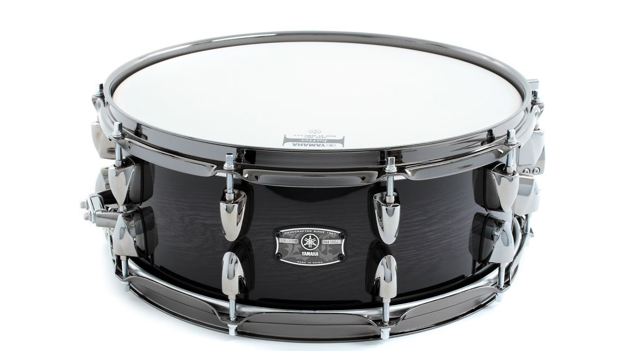 Yamaha Live Custom Snare Drum Review - Sweetwater Sound ...