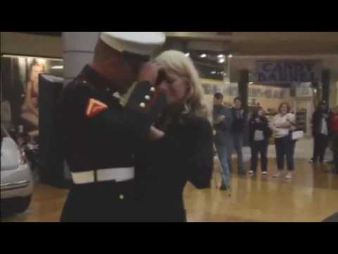 Marine Flash Mob Proposal South Town Mall