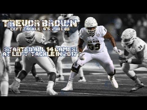 Trevor Brown | #59 | Sophomore Left Tackle Highlights