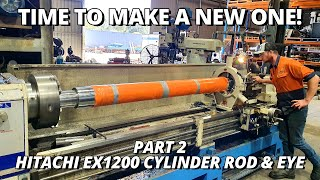 Making a BIG Hydraulic Cylinder Rod & Eye | Part 2