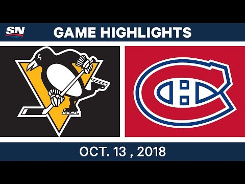 NHL Highlights | Penguins vs. Canadiens - Oct. 13, 2018