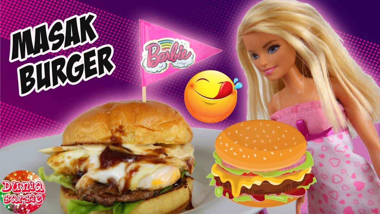 Barbie Masak Roti Burger Cerita Anak Boneka Barbie Bahasa Indonesia Terbaru Youtube