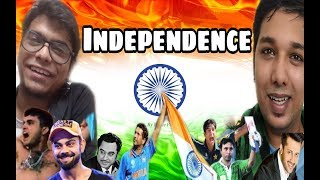 INDIA VS PAKISTAN | Indo - Pak Independence Day | 72nd Independence Day Special | Fajil Bangali