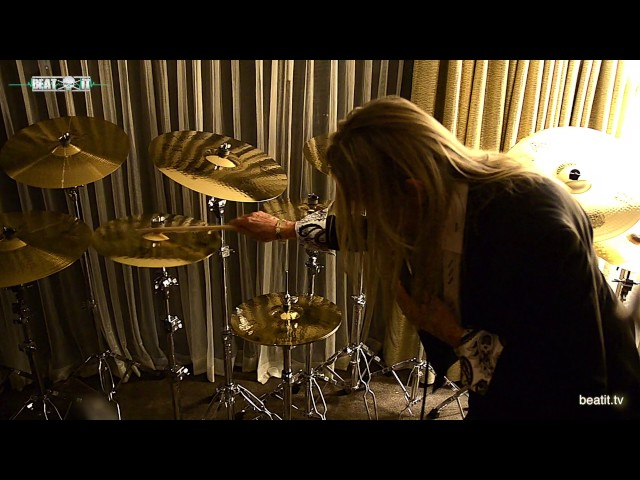 BeatIt at NAMM Show 2017: Paiste Cymbals & Nicko McBrain