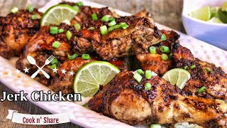 Juicy and Luscious Jerk Chicken