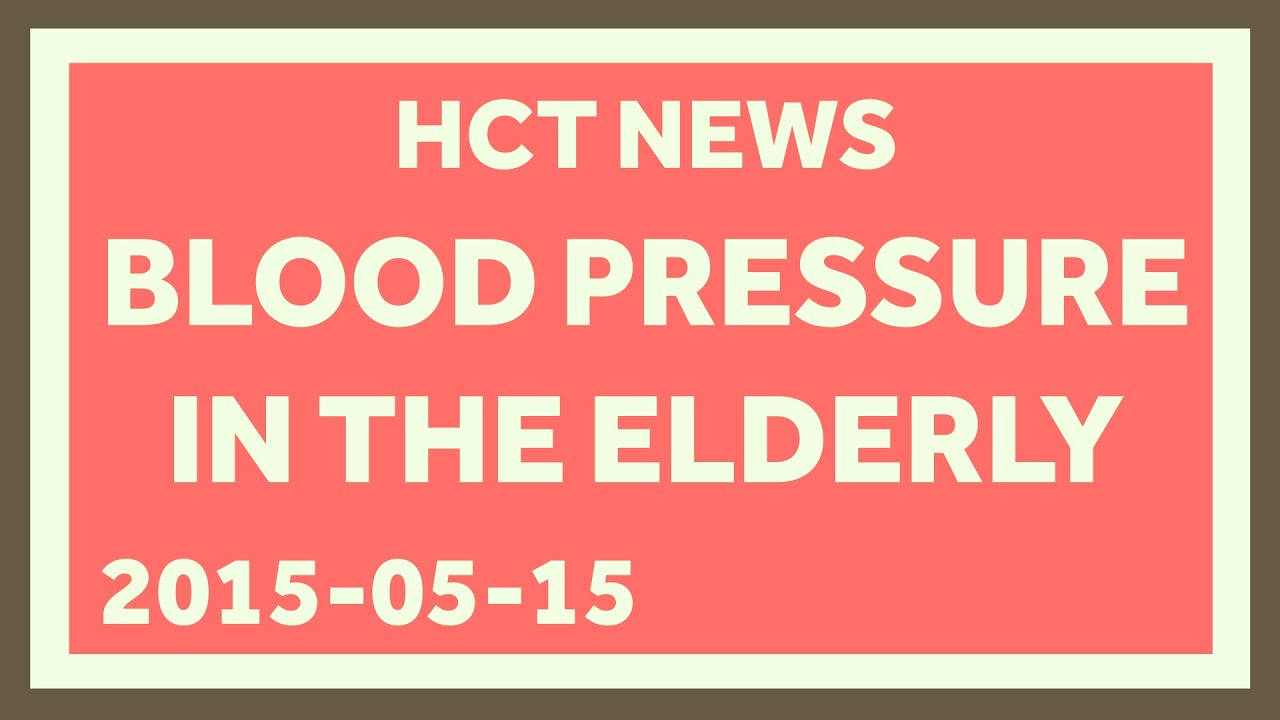 Trying to control blood pressure isnt always the right move for trying to control blood pressure isnt always the right move for the elderly nvjuhfo Gallery