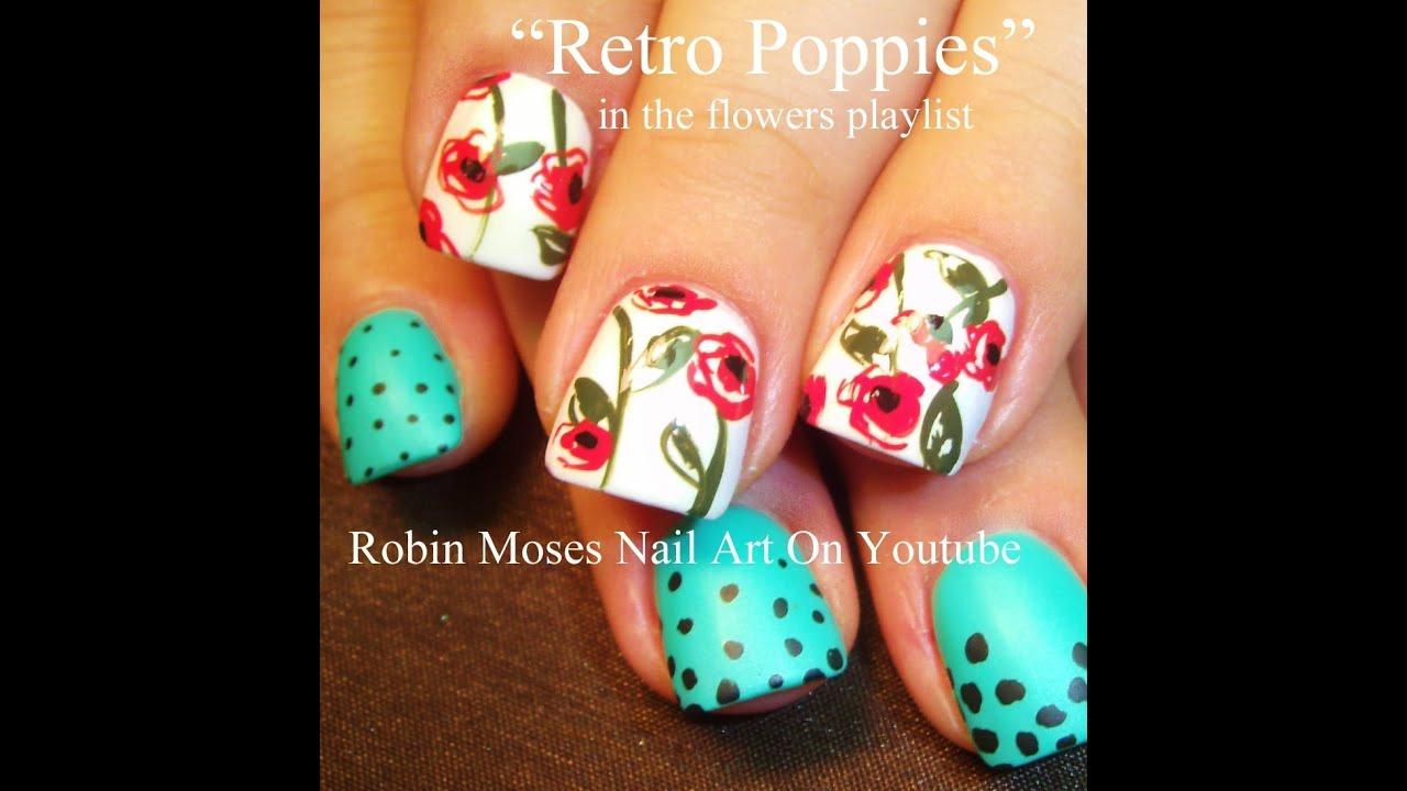 2 nail art tutorials easy nail art for beginners poppy day 2 nail art tutorials easy nail art for beginners poppy day design prinsesfo Image collections