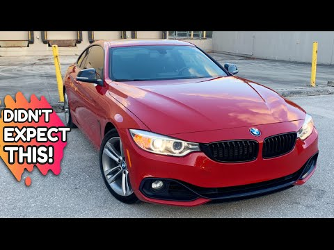 THIS SURPRISED ME! 4 REASONS TO BUY A 2015 BMW 428i Coupe