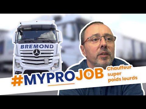 Gérard - Chauffeur Super Poids Lourds - #MYPROJOB - PROMAN