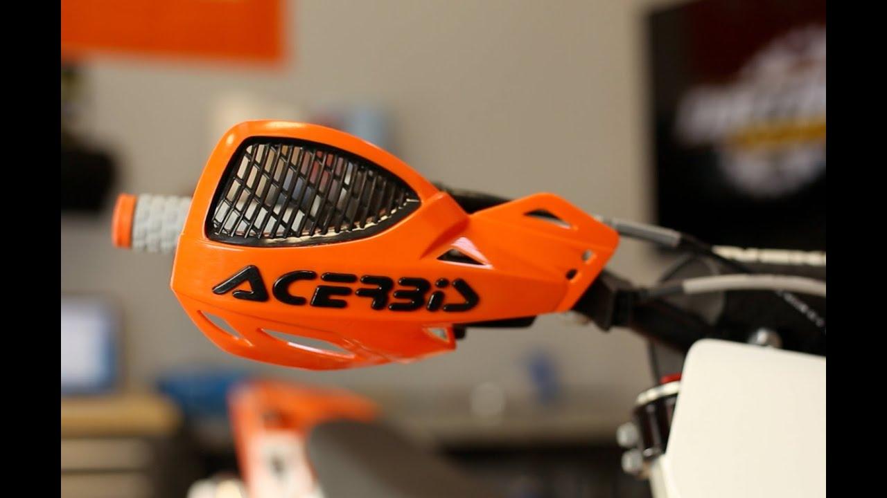 Acerbis Handguards Uniko Vented weiss 3 Motocross Handprotektoren
