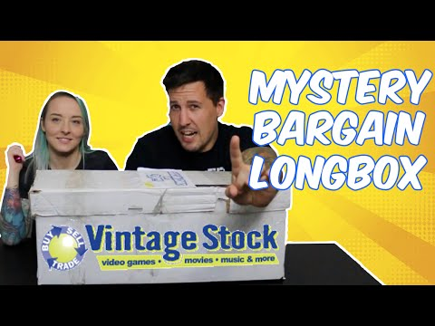 Mystery Bargain Long Box from Vintage Stock!