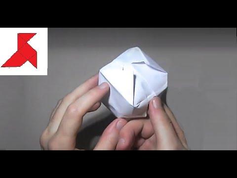 Как сделать водяную бомбочку из бумаги А4 своими руками?