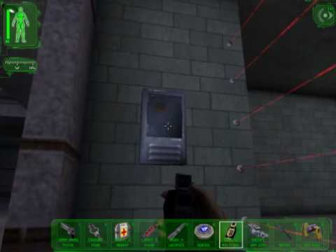 Deus Ex - Sneaking into Gunther's cell