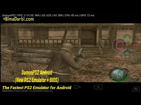 PS2 Android) Resident Evil 4 | DamonPS2 Pro Android | The