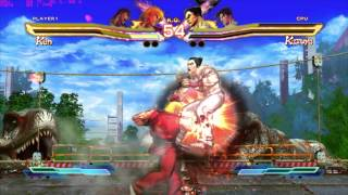Street Fighter x Tekken PC 2012 Gameplay