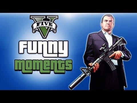 GTA 5 Funny Moments Ep. 3 (Dumb Cops, Wall...