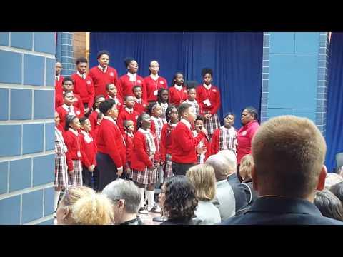 """RISE UP"" by the Cardinal Shehan School Choir, Feb. 2019"