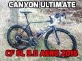 Canyon Ultimate CF SL 9.0 Aero 2015 Deep Black Carbon Stealth Road Bike