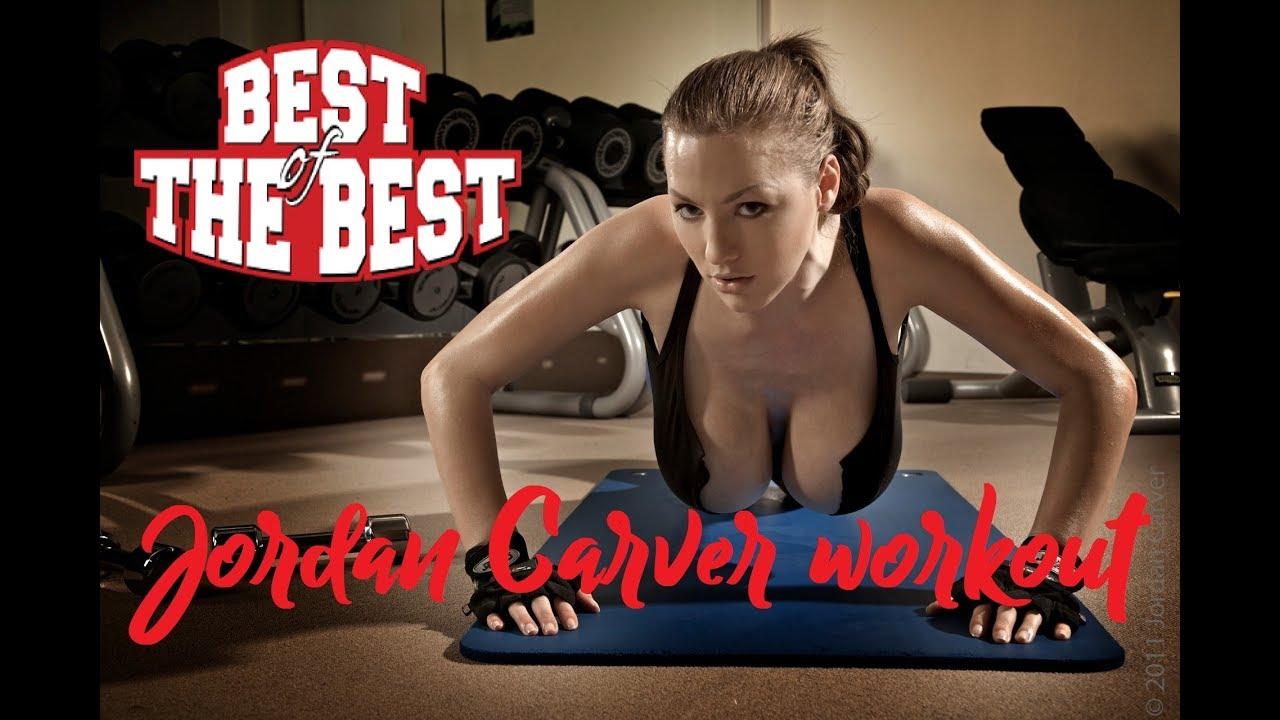 pretty nice b3346 0d07f Fitness model - JORDAN CARVER - workout motivation 2018 Full HD