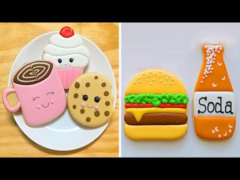 So Yummy Colorful Cookies | Best Cute Birthday Cookies Decorating Ideas | Tasty Cookies Recipes