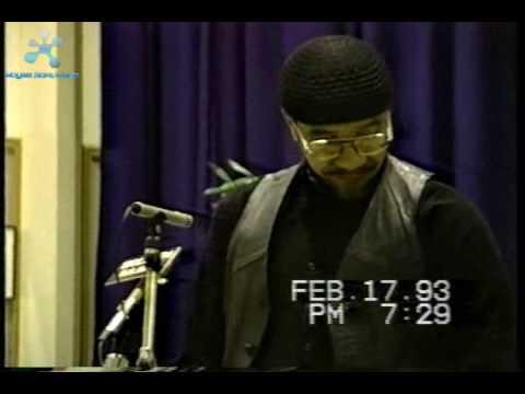 Jamil Al-Amin a.k.a. H. Rap Brown at CAU Preview