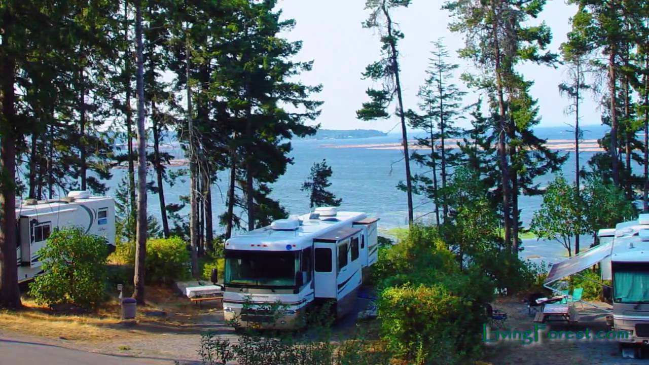 Living Forest Oceanside Rv Sites Nanaimo Vancouver Island