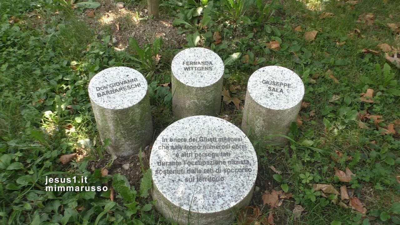 Milano il giardino dei giusti parco monte stella youtube - Il giardino dei giusti ...