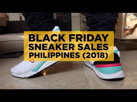 BLACK FRIDAY SNEAKER SALES IN THE PHILIPPINES (2018)