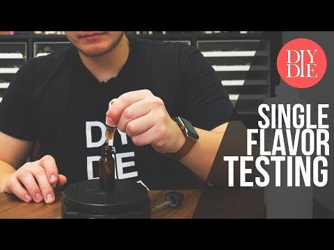 How To Test Single Flavorings (Beginner DIY Ejuice Tutorial)