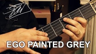 Angra - Ego Painted Grey passo a passo Pt. 2 - Tapping - Felipe Andreoli