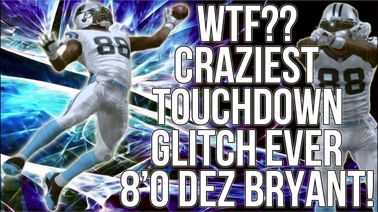 Wtf Craziest Touchdown Glitch Ever 8 Dez Bryant Xbox One Madden 16 Ultimate Team