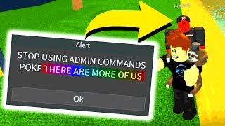 FINDING RED GUEST WITH ADMIN COMMANDS.. (Roblox)