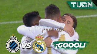 ¡Cayó el tercero del Madrid! | Club Brujas 1 - 3 Real Madrid | Champions League  J6 - Grupo A | TUDN