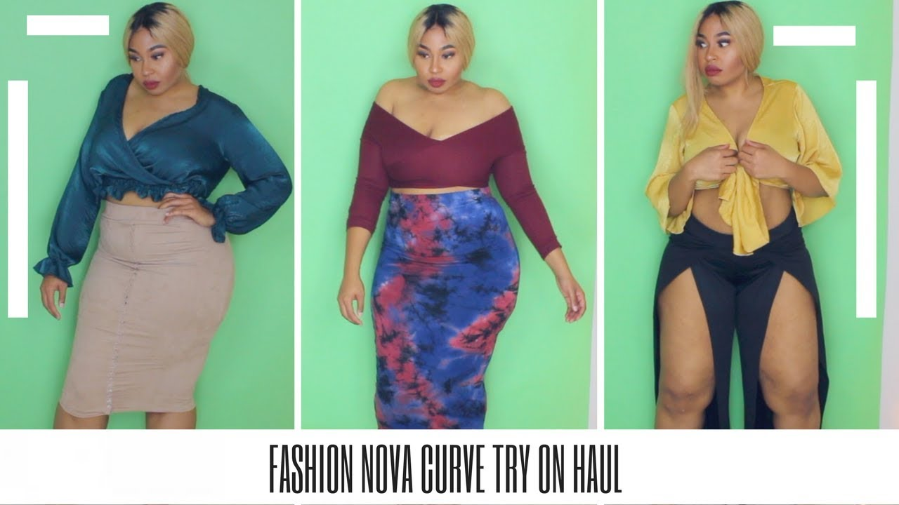 Thick Girl Fashion Nova Try On Haul Grown Sexy Youtube