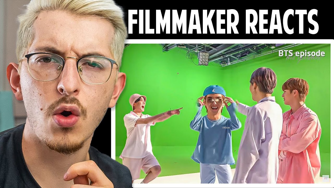 FILMMAKER REACTS To BTS 'Dynamite' Shooting Sketch