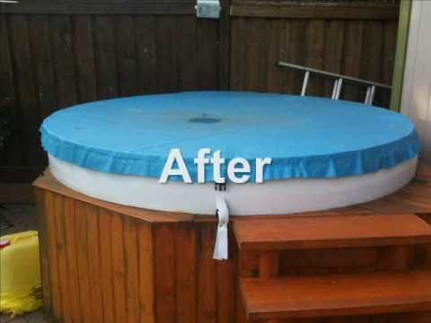 Homemade Hot Tub Cover for under $100