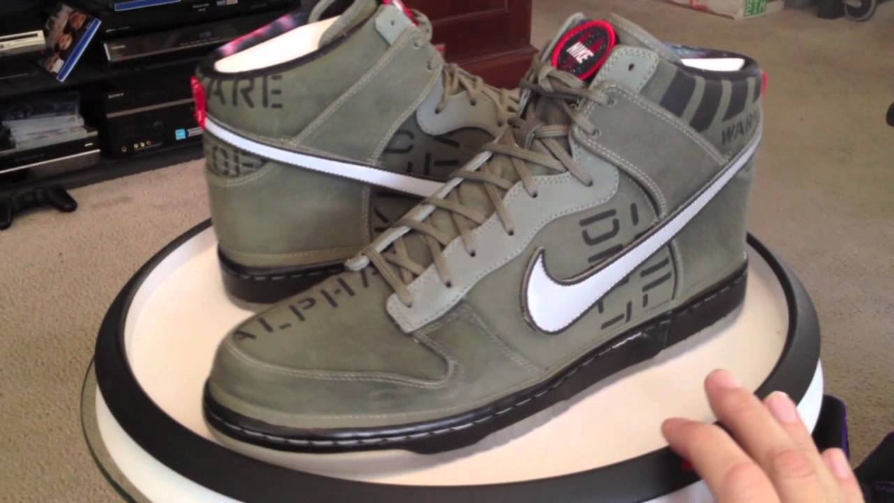 huge selection of cd52e 87649 Nike Dunk Hi Premium QS - All Star Game 2012 pack - All 3... - YouTube