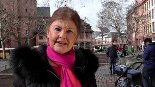 BI Gutenberg-Museum / Bibelturm / Statement Frau Kleebach