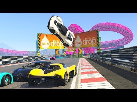 CRAZY SUPERCAR RACES! - GTA 5 Funny Moments #738
